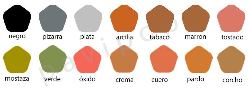Moldes colores hormigon impreso hormigon pulido catalogo - Hormigon pulido colores ...